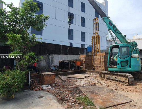 Ép cọc bê tông quận Bình Tân